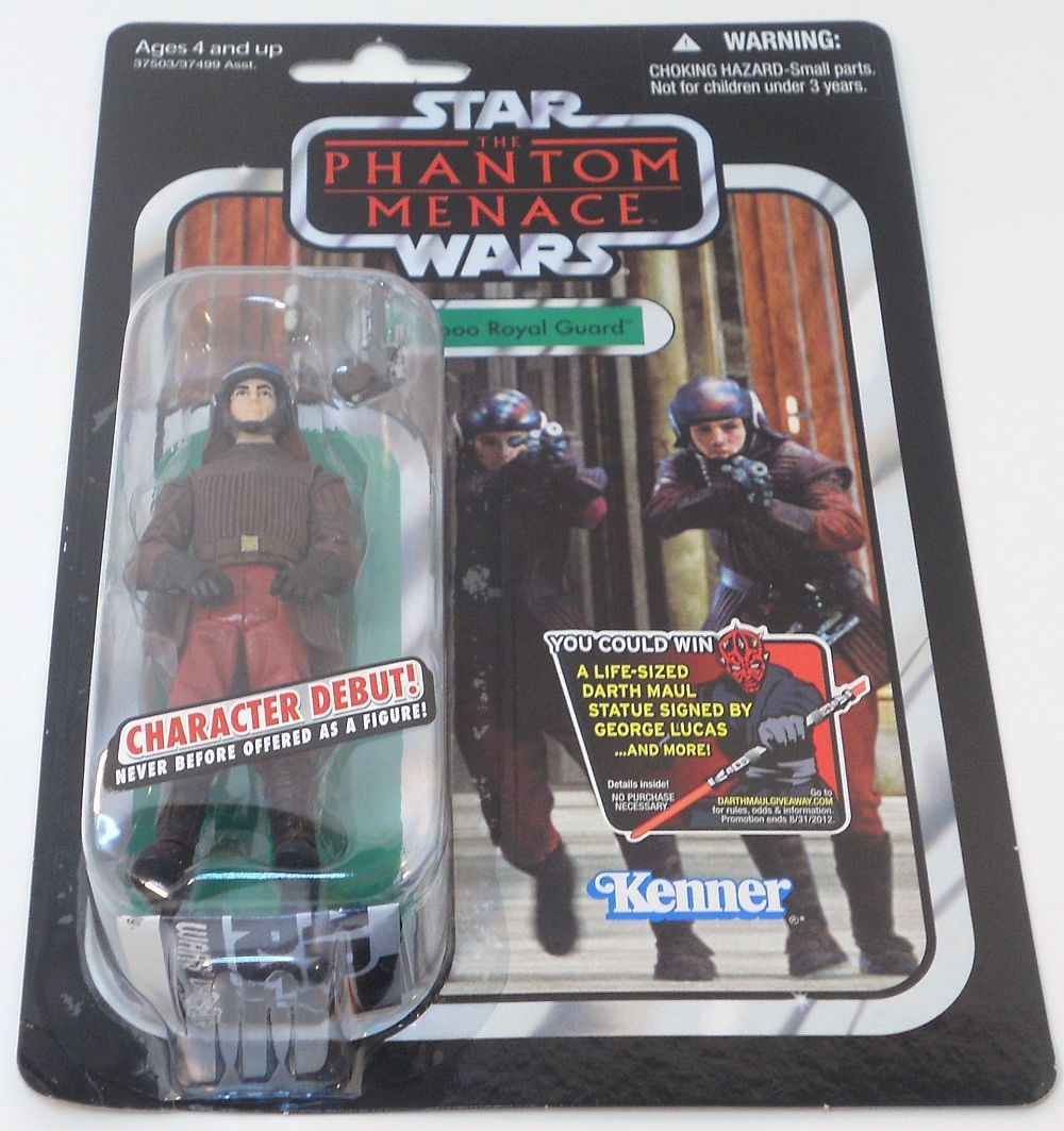 Image 2 of Star Wars Naboo Royal Guard Vintage Collection VC83 The Phantom Menace