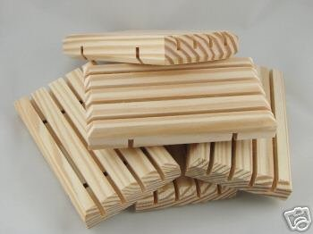 NATURAL WOODEN SOAP DISH Unstained Wood Pine Wholesale