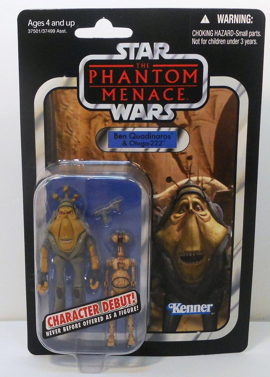 Image 0 of Star Wars Ben Quadinaros and Otoga-222 Vintage Collection VC81 debut