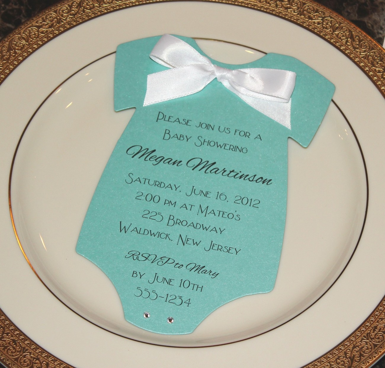Tiffany Blue Baby Shower Invitations can inspire you to create best invitation template
