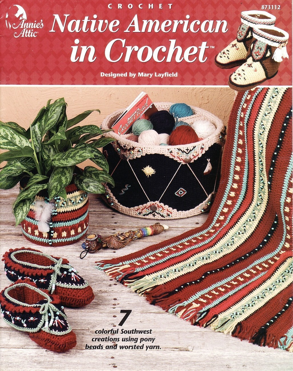 Crochet Patterns Native American : Native American In Crochet Patterns Annies Attic Afghan Southwest ...