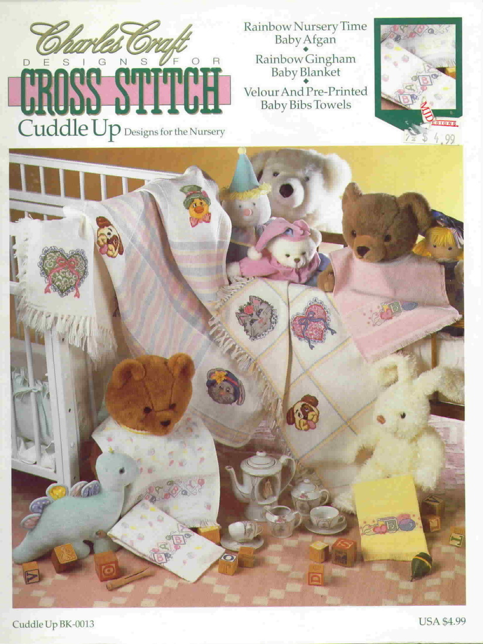 Charles Craft Designs for Cross Stitch Cuddle Up Designs for the ...