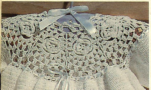 Crocheted Christening Gown Patterns Free Patterns