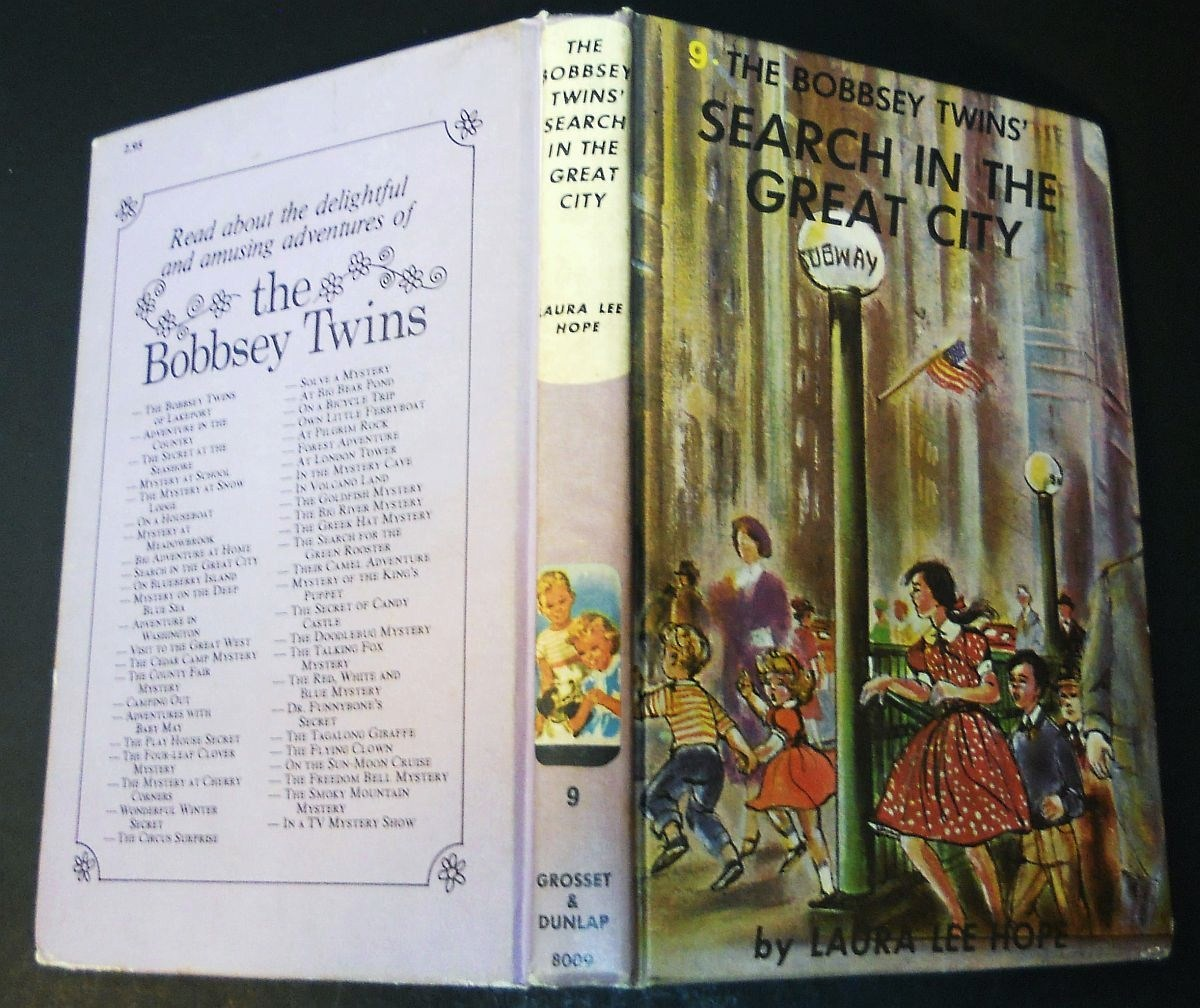 Image 5 of The Bobbsey Twins Search in the Great City #9 Laura Lee Hope