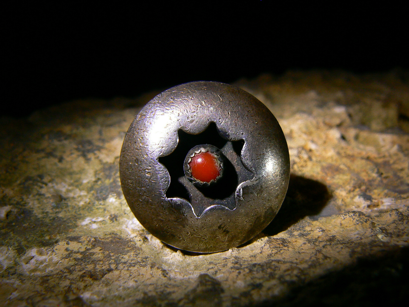 THE KING of HELL BLACK MAGIC CROWLEY DEMON DJINN HAUNTED ANTIQUE POWER RING