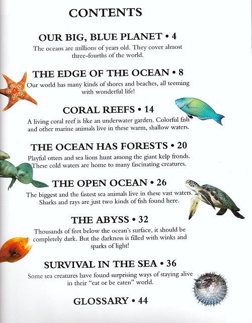 Image 2 of Discover Ocean Life by Alice Jablonsky Hb 2008 Children Science