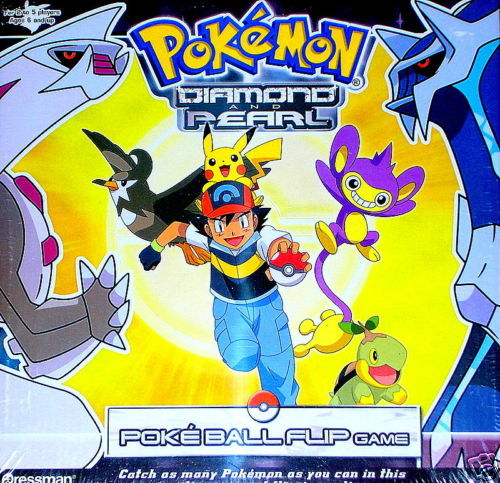 Pokemon Diamond And Pearl Pokeball Flip Game New Pokemon