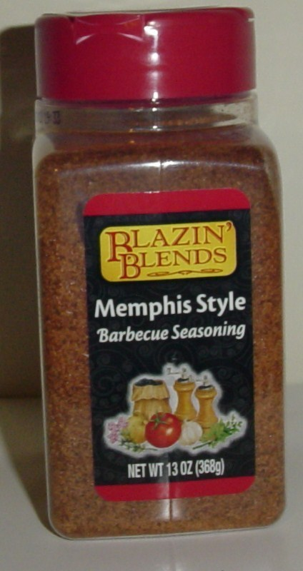 Blazin blends Memphis Style Barbecue Seasoning 6 ct