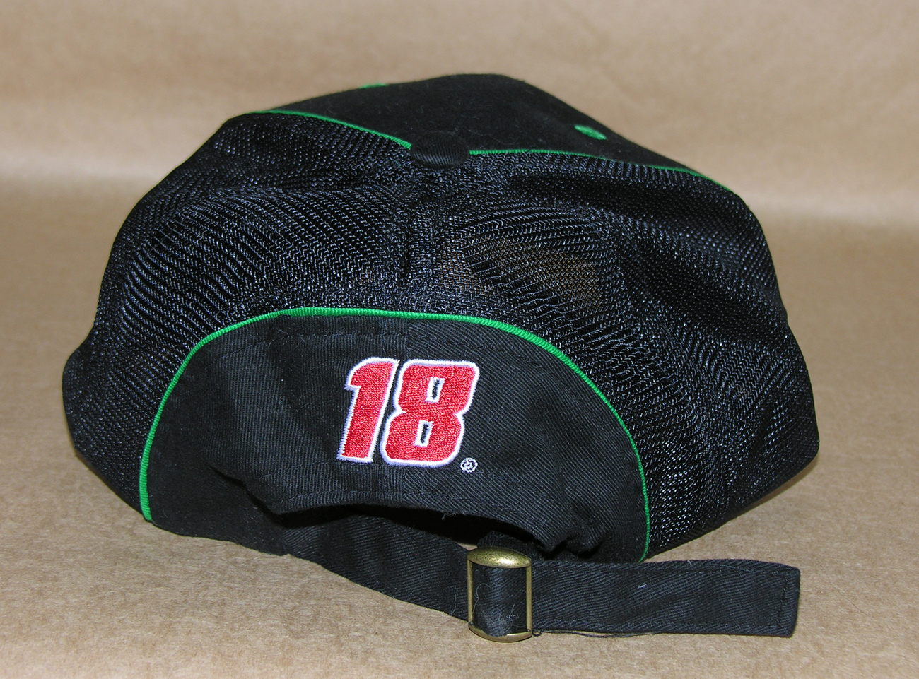 nascar interstate batteries racing 18 baseball cap hat