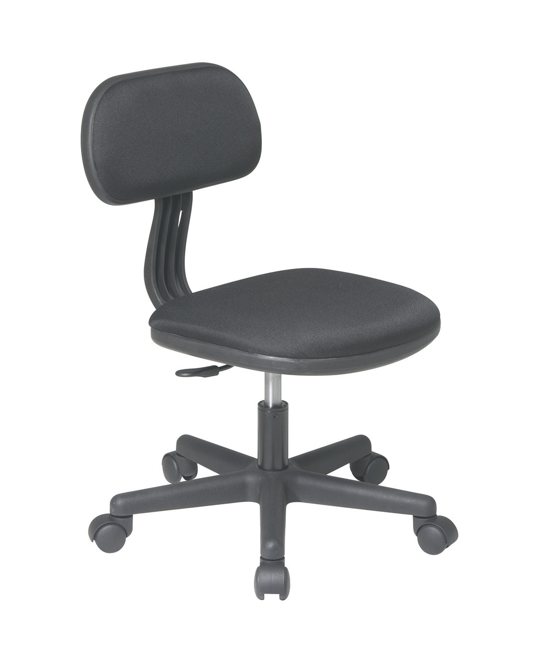 black fabric seat back child 39 s teens computer desk task