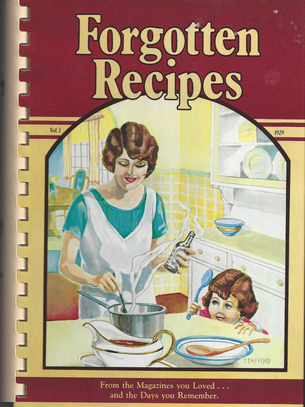 Forgotten Recipes Cookbook Compiled by Jaine Rodack