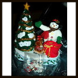 Vintage Avon A Wonderful Countdown To Christmas Snowman