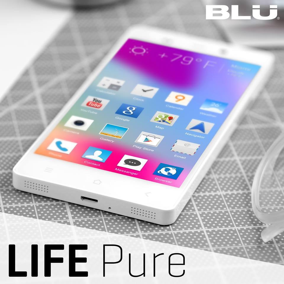 BLU Life Pure Unlocked Phone Black