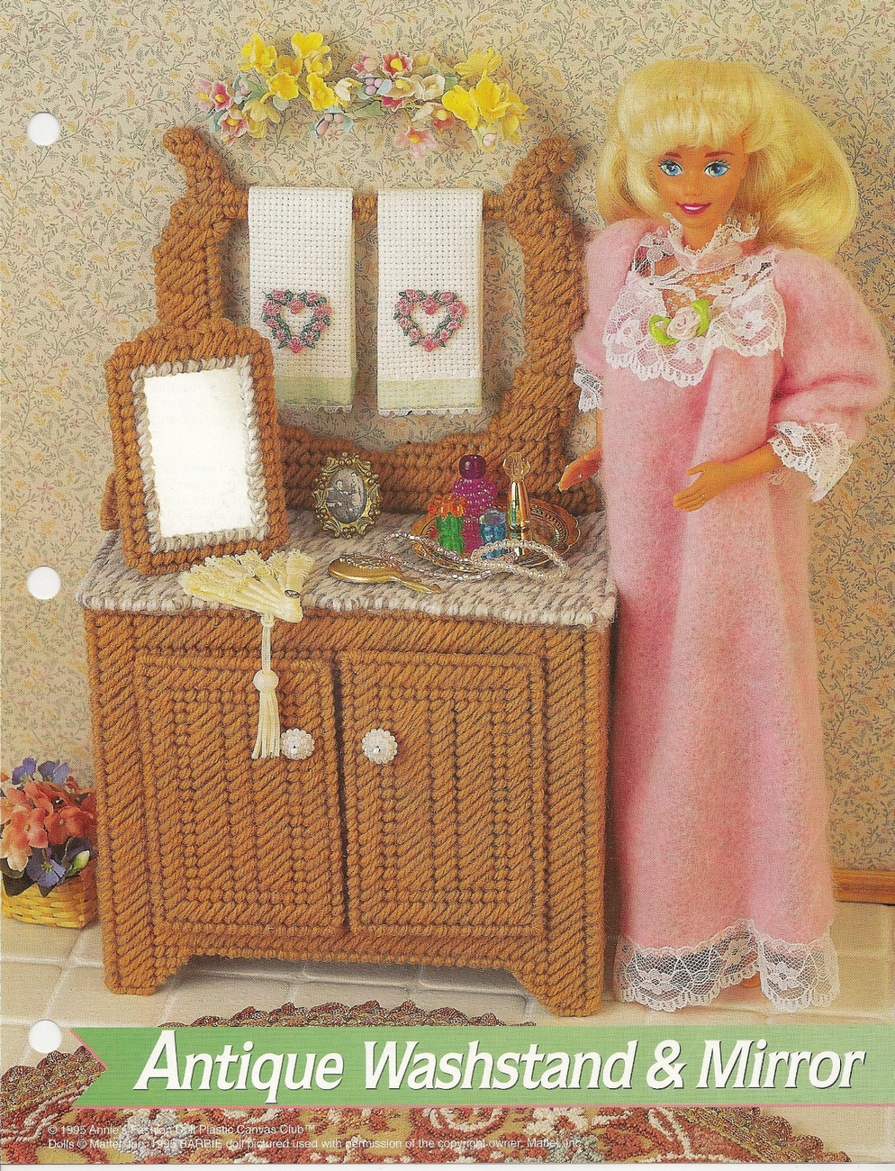 ... Annies Attic Fashion Doll Plastic Canvas Club Pattern - Plastic Canvas
