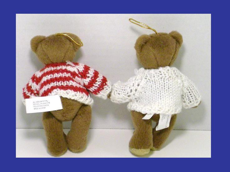 Image 2 of Patriotic bear ornaments Old Gloria and Americana Sam