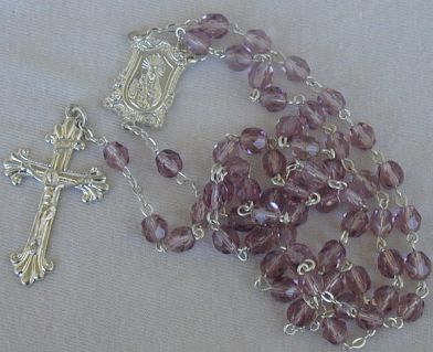 Buy Light purple rosary at AtomicMall.com