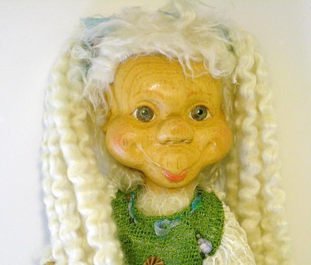 Robert Raikes Original Wauggie Girl One of a Kind 2006 OOAK Special Creation