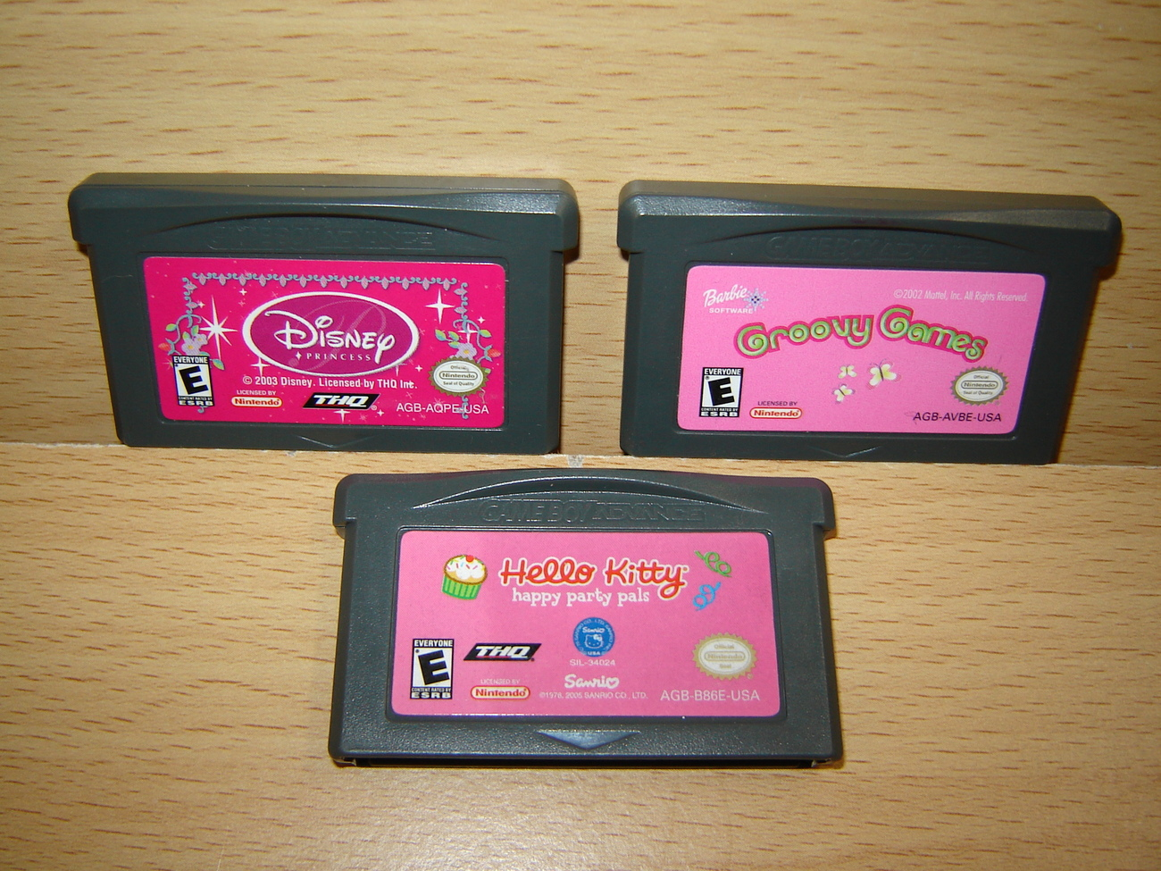 game boy advance barbie: