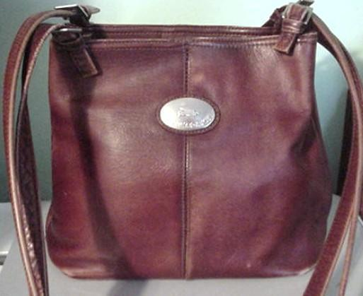 AMERICAN ANGEL GENUINE LEATHER BUCKET HANDBAG PURSE