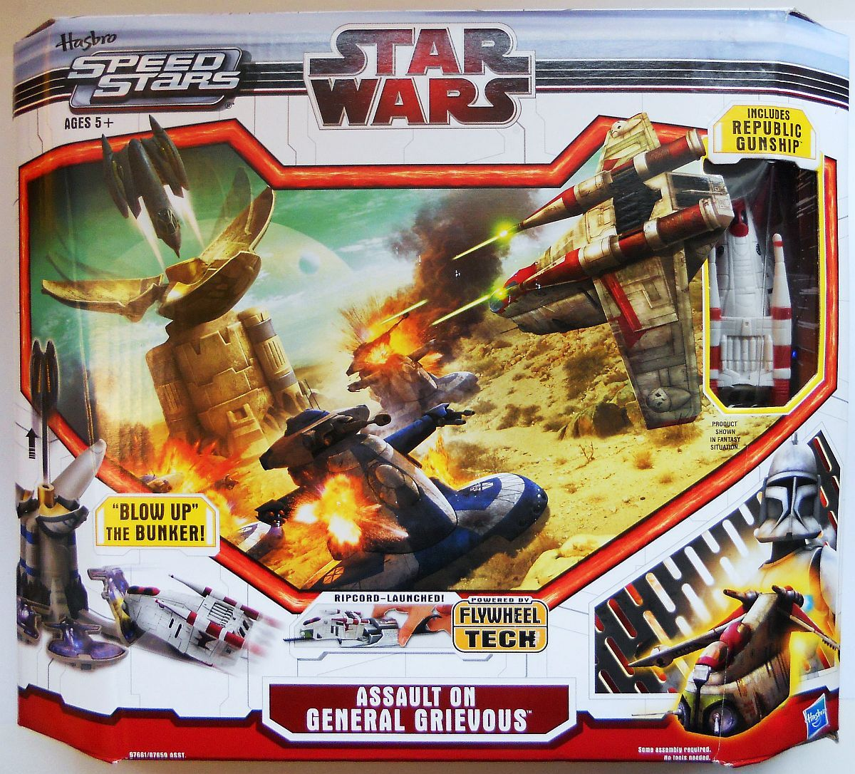 Star Wars Assault On General Grievous Playset Micro Machines Speed Stars