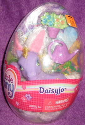 * G3 My Little Pony 2005 Easter DAISYJO Mint In Egg