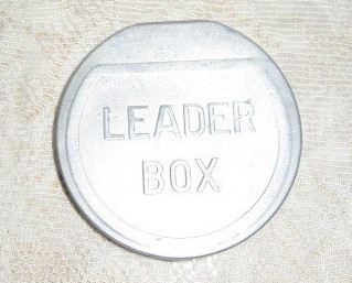 Vintage Hinged Fly Fishing Leader Box