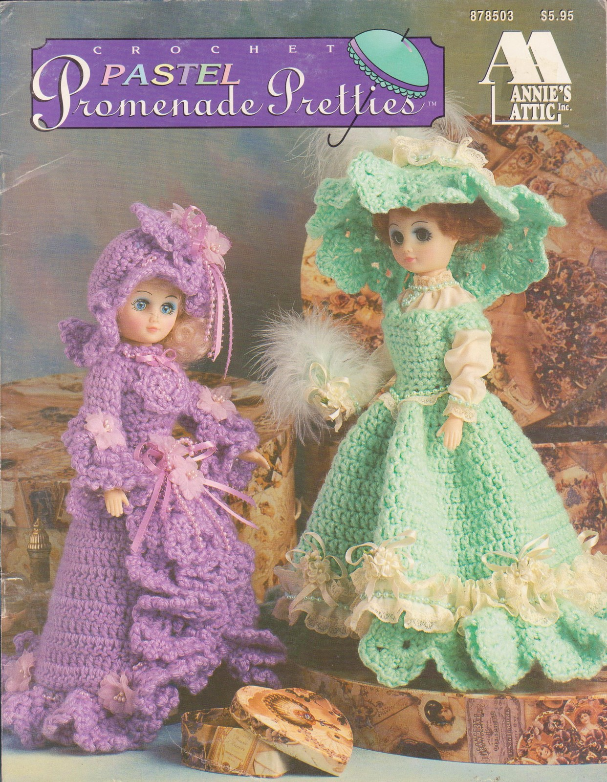 ... Crochet Patterns Doll Clothing Annies Attic 4 Designs - Doll Clothing
