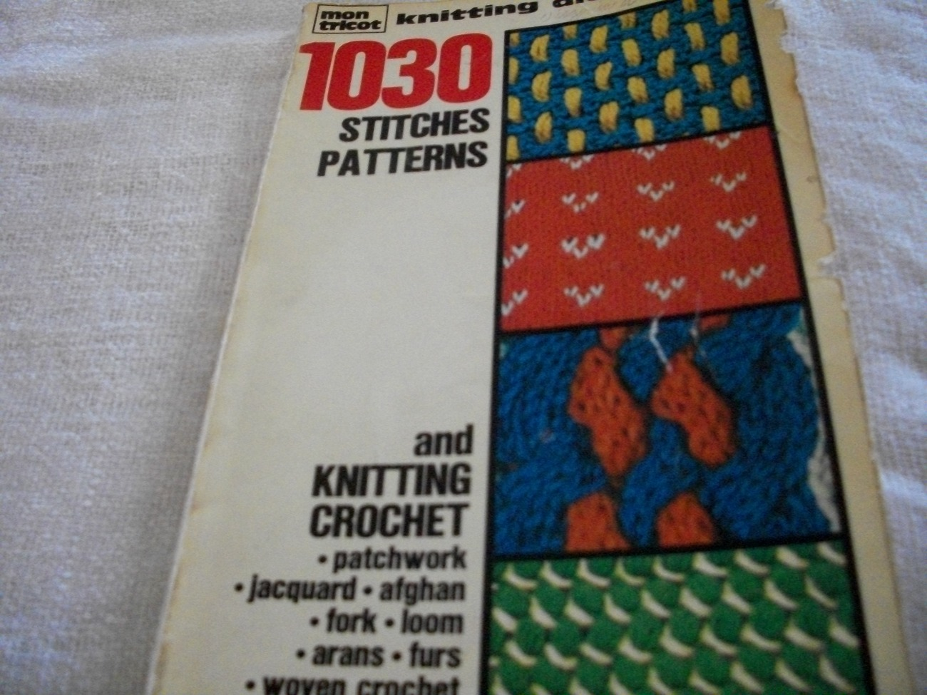 Knitting Dictionary of Stitch Patterns - Other