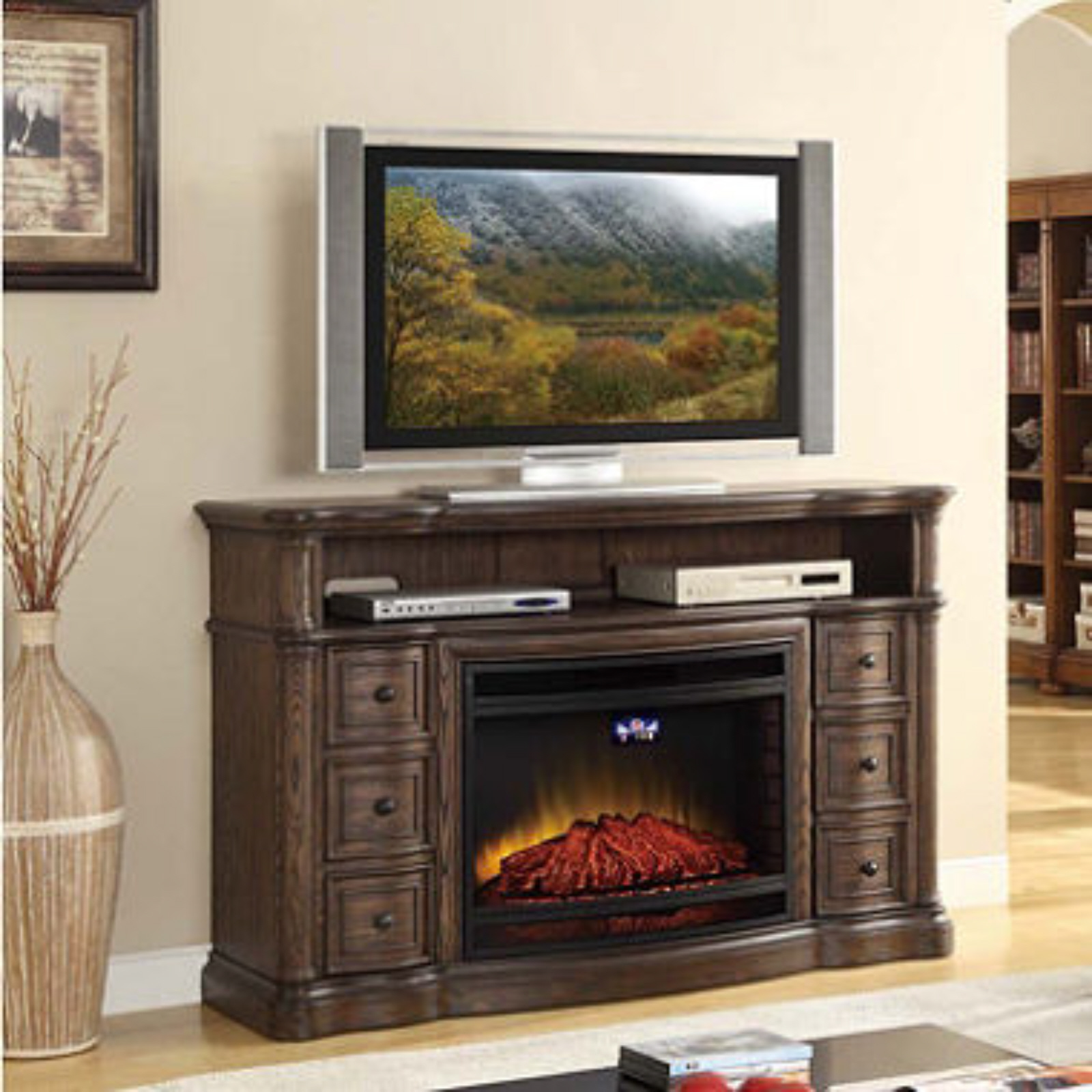 Sam's Club Electric Fireplace TV Stand