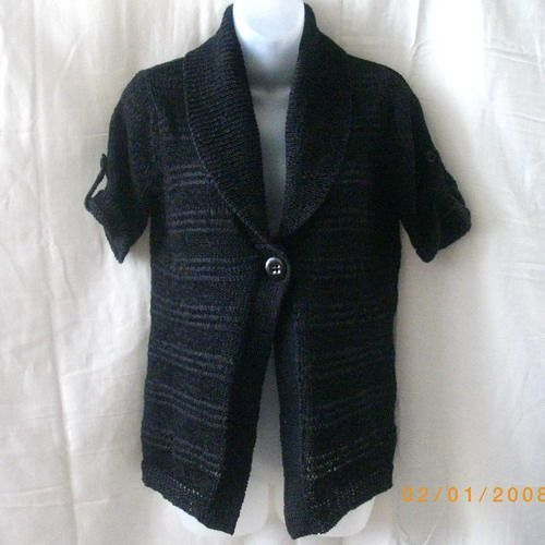 Short Sleeved Black Cardigan Nz 67