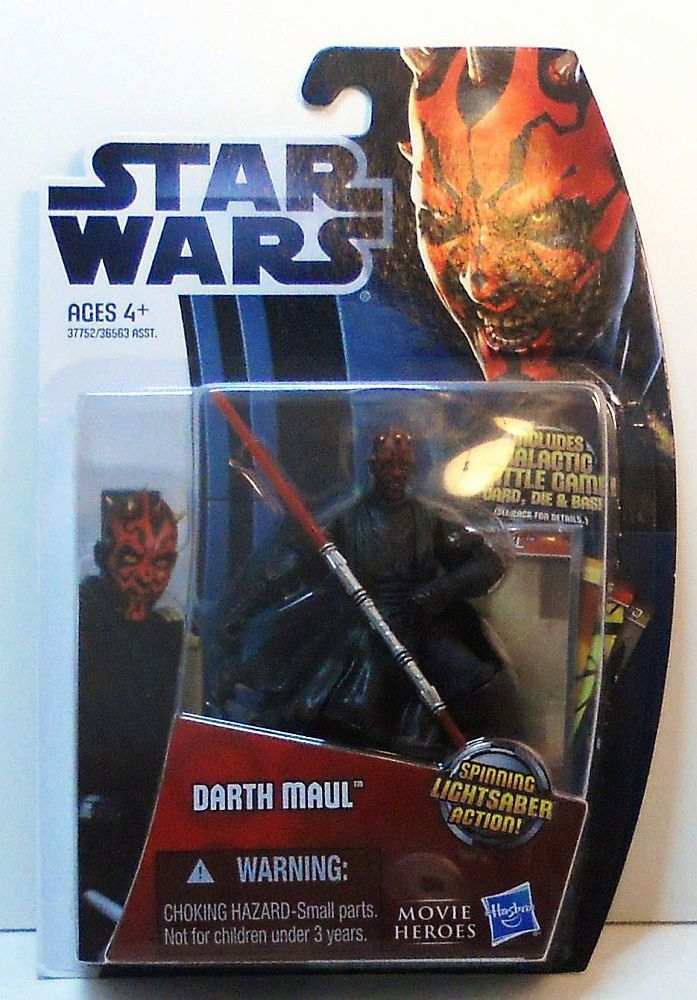 Image 1 of Star Wars Darth Maul Movie Heroes MH05 wave 1 3.75 in figure