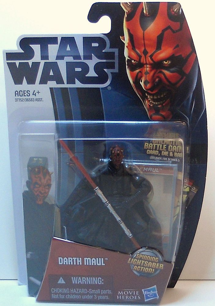 Image 3 of Star Wars Darth Maul Movie Heroes MH05 wave 1 3.75 in figure