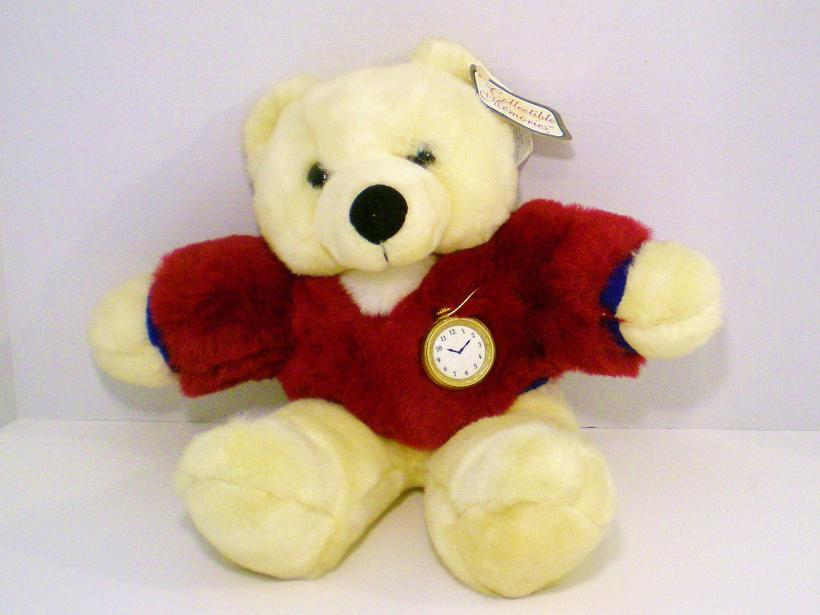 Image 2 of Collectible Memories by Dan Dee plush cream bear 2001 w/tag