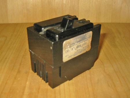 WESTINGHOUSE QNPL2100 100 AMP 2 POLE MAIN CIRCUIT BREAKER