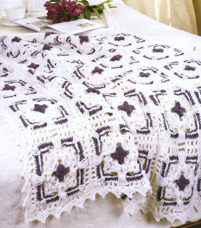 Crochet Afghan Patterns Quilt : Crochet Afghans Patterns Blankets Book Afghan Quilt Choice ...