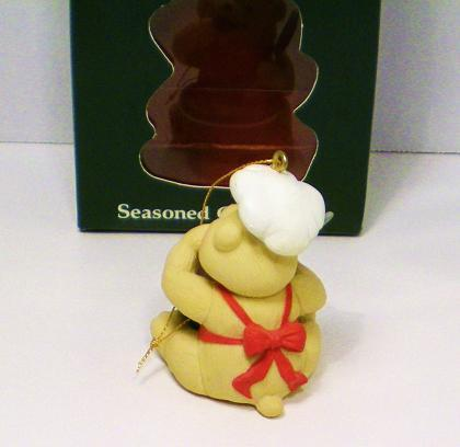 Image 1 of Seasoned Greetings American Greetings Chef Bear ornament