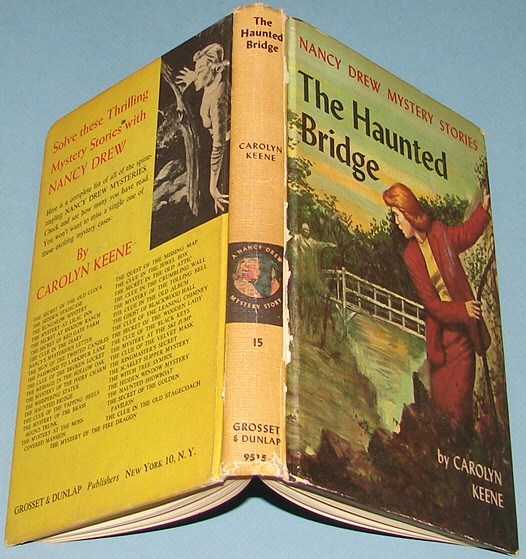Nancy Drew #15 The Haunted Bridge 1937 Text First 1st PC