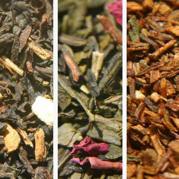Organic Tea Sampler Pack Choose THREE 1.5 oz. each
