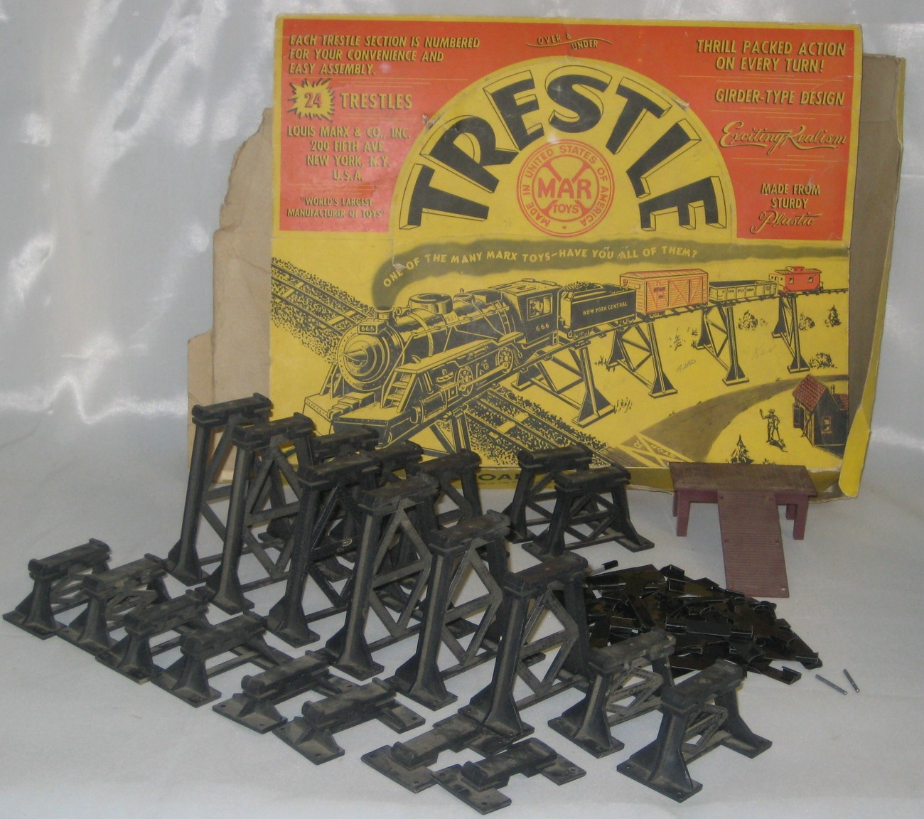 Marx-railroad-trestle-set-1412