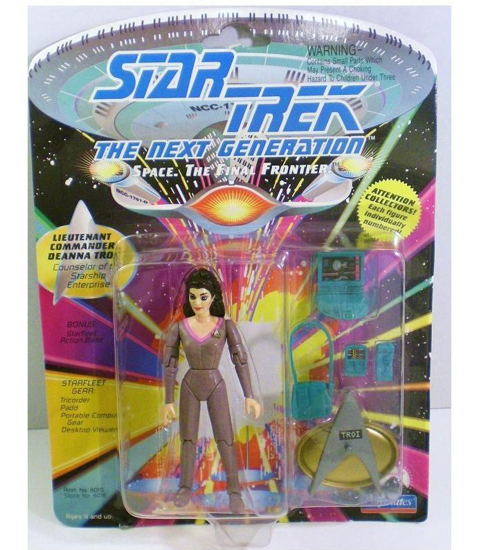 Lt Commander Deanna Troi Figure 1992 Series 1 Star Trek TNG