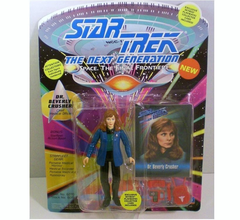 Star Trek TNG Dr. Beverly Crusher 1993 action figure Series 2