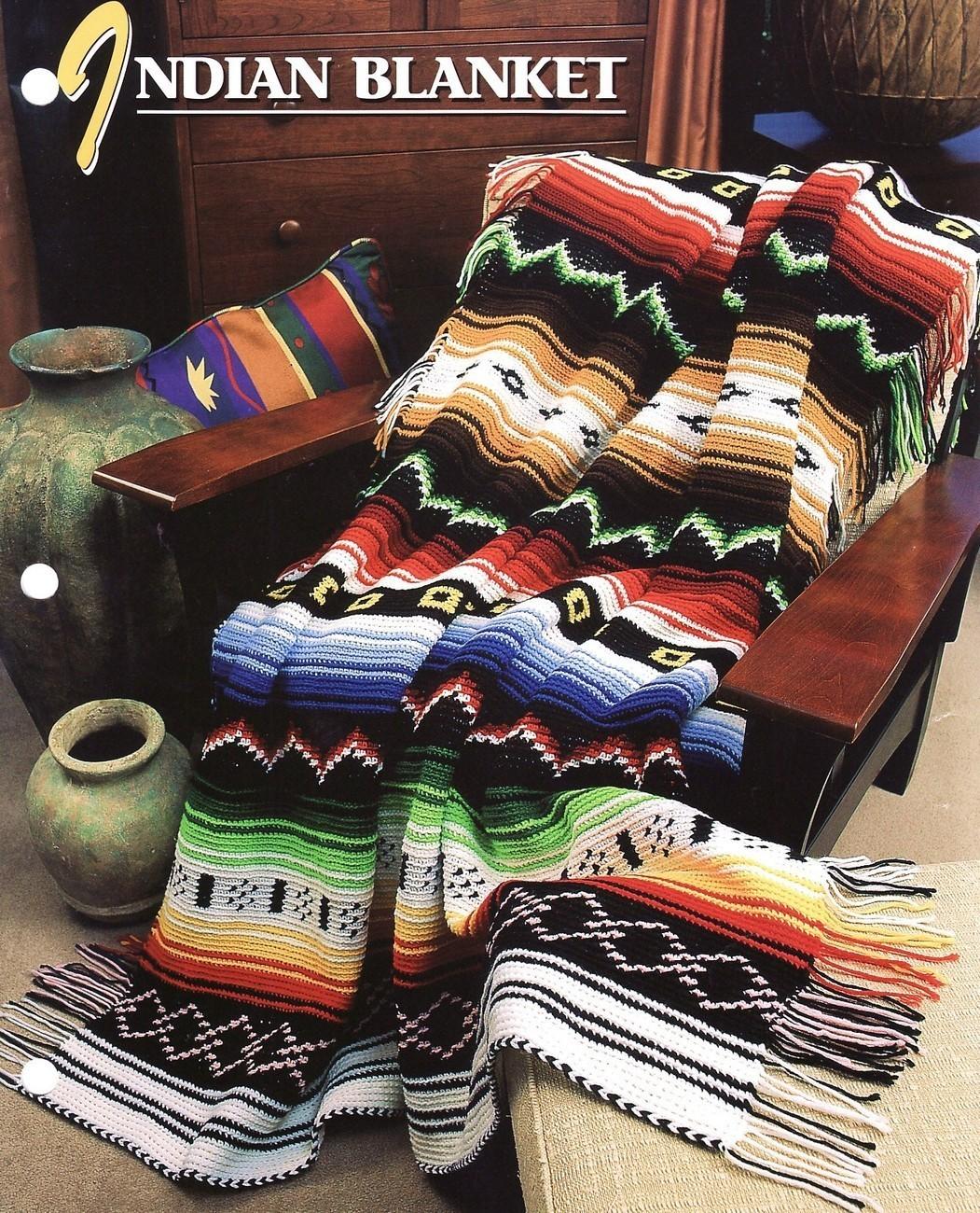 Crochet Pattern For Navajo Afghan Free Patterns For Crochet