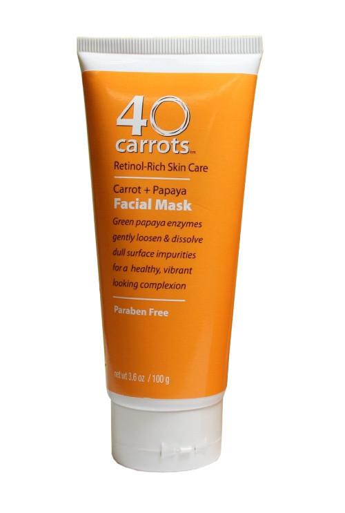 Carrots Carrot Papaya Facial Mask Anti Aging Products