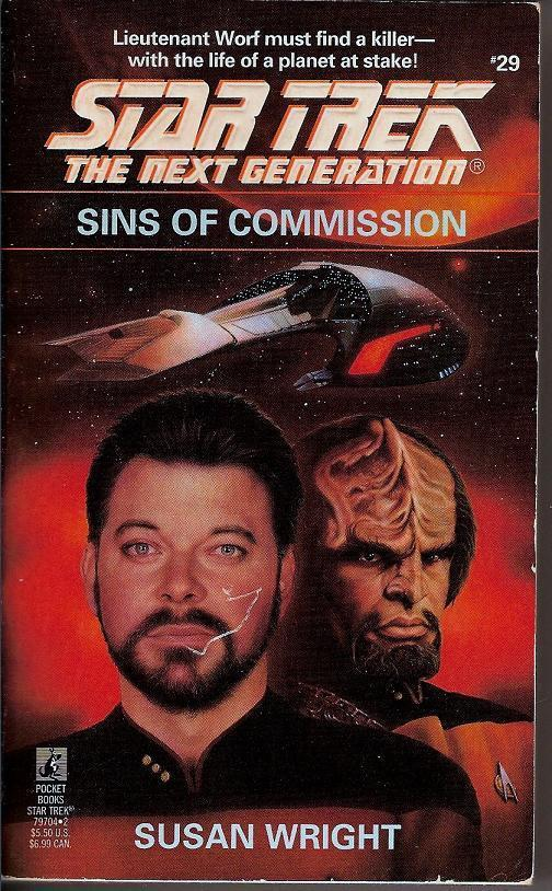 Sins of Commission Star Trek Next Generation 29 PB 1994
