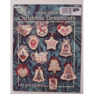 Christmas Ornaments Cross Stitch Sam Hawkins #3507