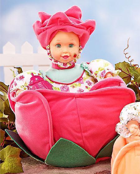 Rose scented kinder garden babies 10 blossoming doll other for Kinder gardine
