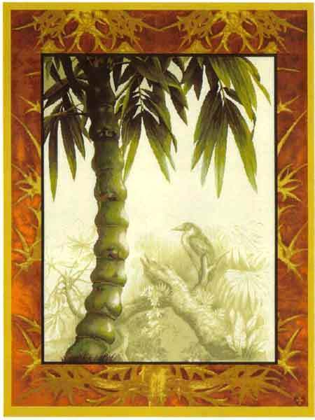 40x30 PALM TREE Tropical Jungle Tapestry Wall Hanging