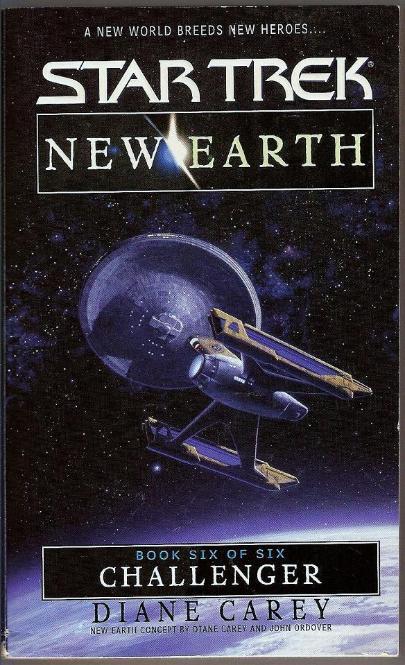Image 0 of Challenger Star Trek New Earth Book 6 PB 2000
