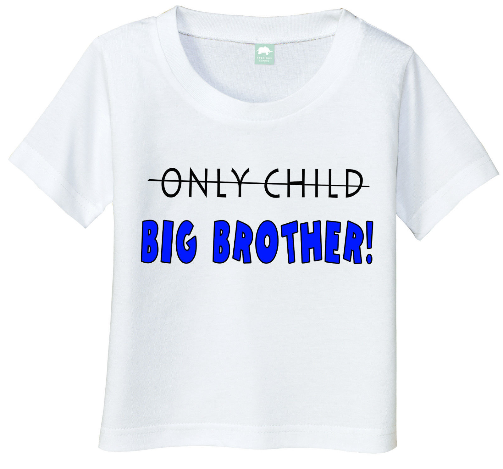 Big brother shirt new brother tshirt sibling tee only for Big sister birth announcement shirts