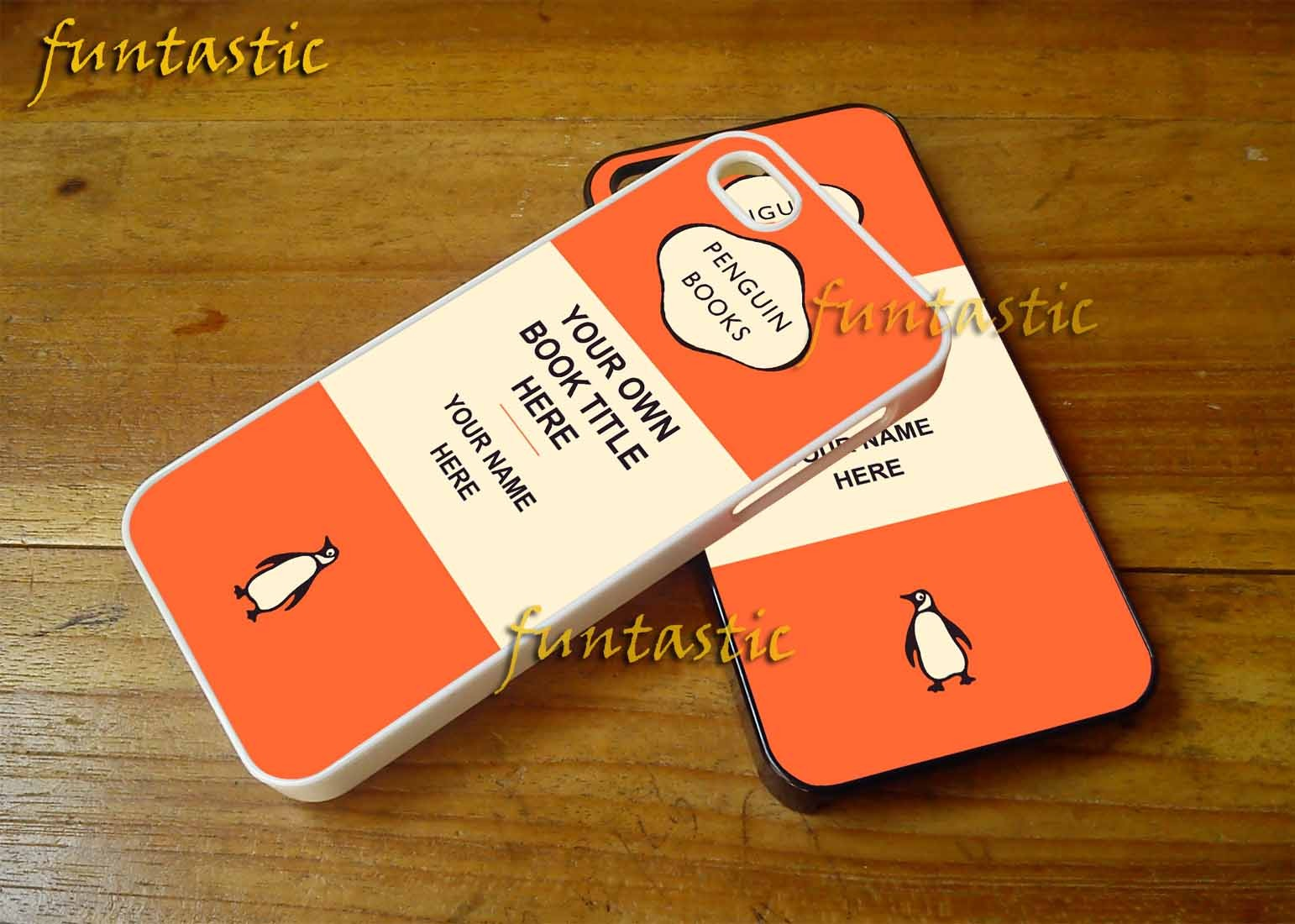 Penguin Book Phone Cover : Personalized penguin books cases iphone c s